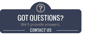 Got questions? We'll provide answers. | Contact Us