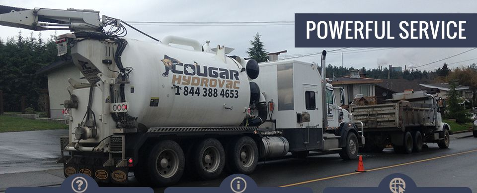 Powerful Service | Cougar Hydrovac Truck